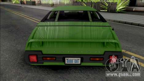 Declasse Stallion [SA Plate] for GTA San Andreas