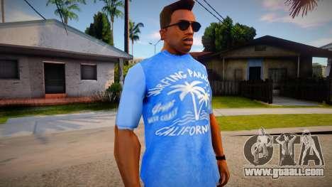 New T-Shirt - tshirtsuburb for GTA San Andreas