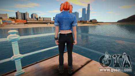 Girl from GTA Online DLC: Bikers for GTA San Andreas