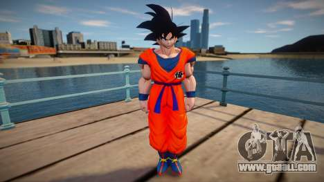 Goku skin for GTA San Andreas