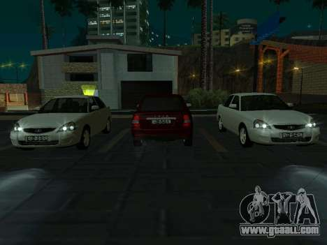LADA 2170 PRIORA 2 gen for GTA San Andreas