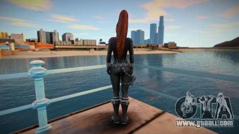 Mai Black Widow for GTA San Andreas