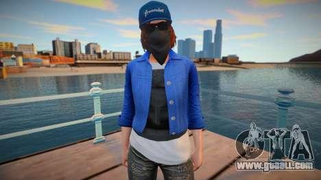 Marcus Holloway (GTA Online Female Cosplay) for GTA San Andreas