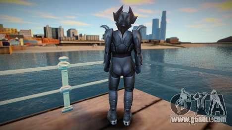 Kamen Rider Dragon Knight Xaviax for GTA San Andreas