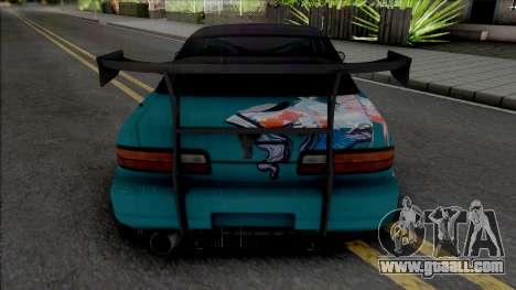 Nissan Silvia S13 Rocket Bunny Alep Garage for GTA San Andreas