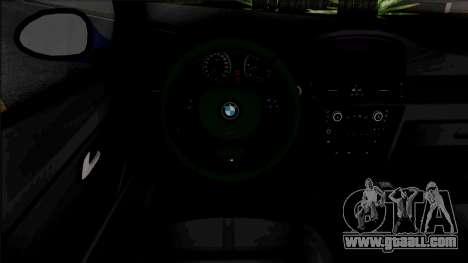 BMW E90 320d M Sport 2010 for GTA San Andreas