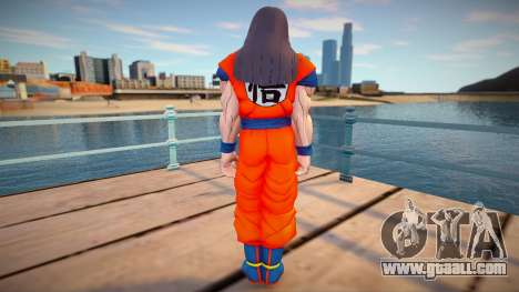 Steve Aoki from Dragon Ball Xenoverse 2 for GTA San Andreas