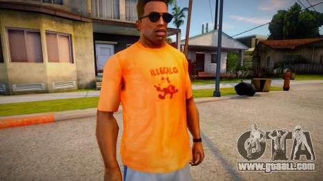 Illegal INN T-Shirt for GTA San Andreas