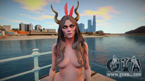 Succubus nude v1 for GTA San Andreas