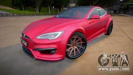 Tesla Model S P100 for GTA San Andreas