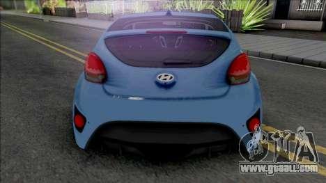 Hyundai Veloster [HQ] for GTA San Andreas
