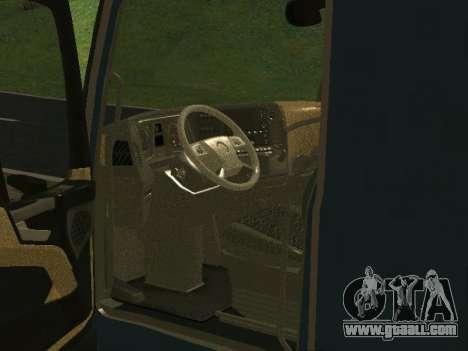 Mercedes Benz Actros 1863 EURO6 for GTA San Andreas