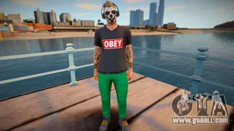 Dude 1 from DLC Lowriders 2015 GTA Online for GTA San Andreas