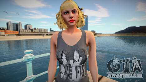 Blond beauty from GTA Online for GTA San Andreas
