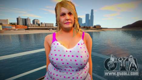 New CJ Girlfriends 2021 - Barbara for GTA San Andreas