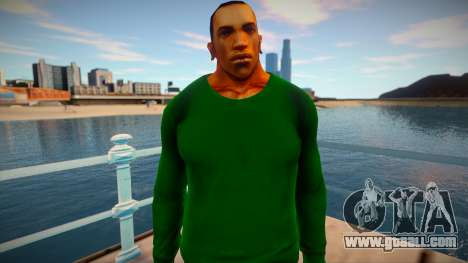 CJ 2015: Skin preview (Grove Style) for GTA San Andreas
