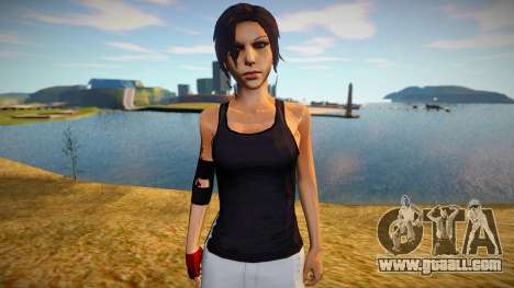 Lara Croft (Tomb Raider) suit of Mirrors Edge for GTA San Andreas