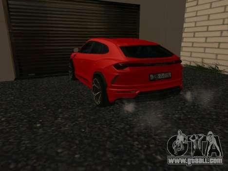 Lamborghini Urus SV for GTA San Andreas