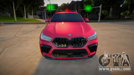 BMW X6M Competition 2020 (good model) for GTA San Andreas