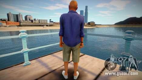 Skin from GTA V v2 for GTA San Andreas