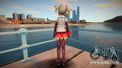 Megadimension Neptunia Collab Makers - GodEat v2 for GTA San Andreas