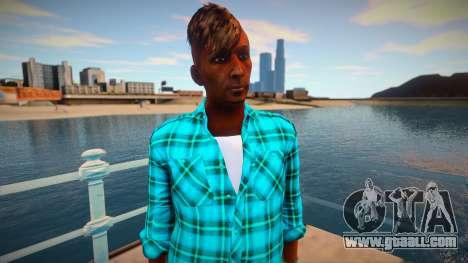 Hairdresser from GTA V for GTA San Andreas