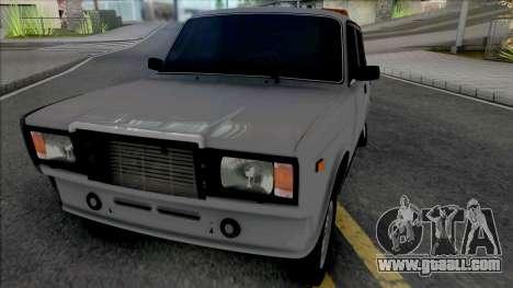 Vaz 2107 Taxi Style for GTA San Andreas