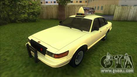 Vapid Stanier Taxi for GTA Vice City