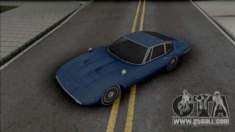Maserati Ghibli 1970 for GTA San Andreas