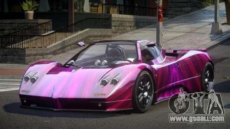 Pagani Zonda BS-S S4 for GTA 4