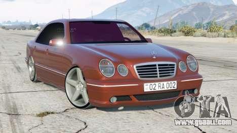 Mercedes-Benz E 55 AMG (W210) 1999