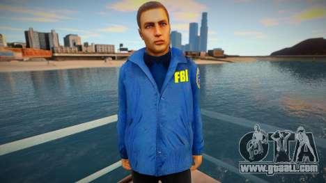 FBI (good textures) for GTA San Andreas