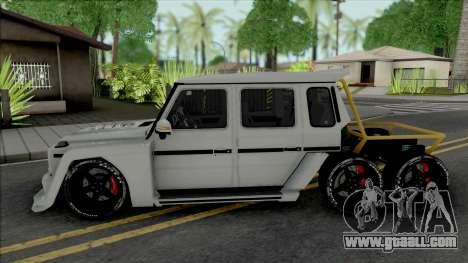Mercedes-Benz G63 AMG 6x6 [IVF VehFuncs ADB] for GTA San Andreas