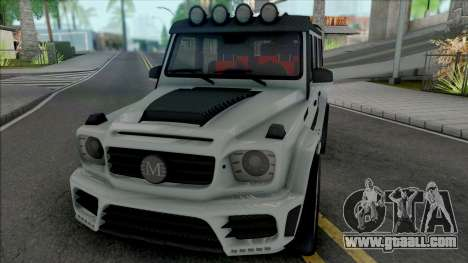 Mercedes-AMG G63 Mansory Gronos for GTA San Andreas