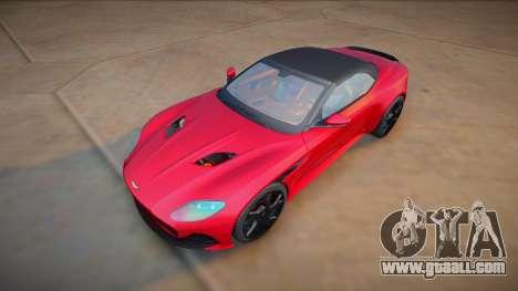 Aston Martin DBS Superleggera Volante 2019 for GTA San Andreas