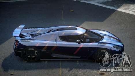 Koenigsegg Agera US S3 for GTA 4