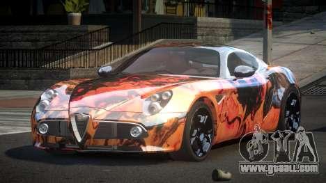 Alfa Romeo 8C US S9 for GTA 4