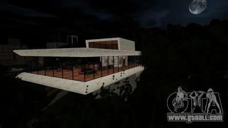 The hills safehouse for GTA San Andreas