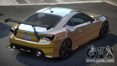 Subaru BRZ SP-U S10 for GTA 4