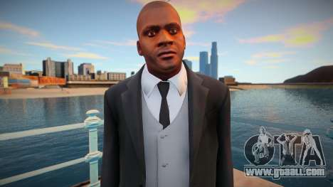 Franklin in a jacket for GTA San Andreas