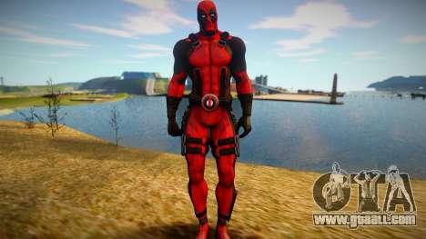 Deadpool skin for GTA San Andreas