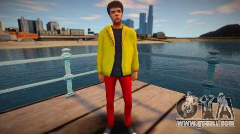 Hipster 2 from GTA V for GTA San Andreas