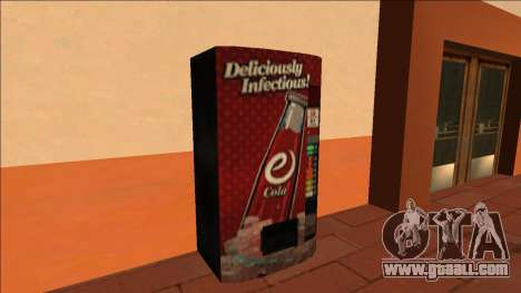 eCola Vending Machine and Can for GTA San Andreas