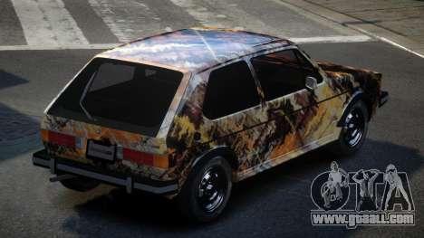 Volkswagen Rabbit GS S6 for GTA 4