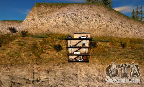 The Cliff House for GTA San Andreas