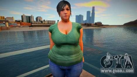 New CJ Girlfriends 2021 - Helena for GTA San Andreas