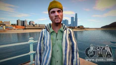 Russian criminal in prison robe for GTA San Andreas