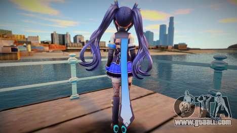 Neptunia Virtual Stars Kin v4 for GTA San Andreas