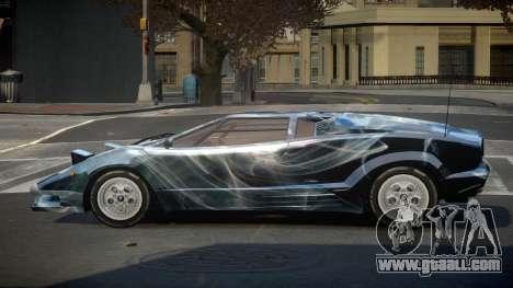Lamborghini Countach GST-S S8 for GTA 4