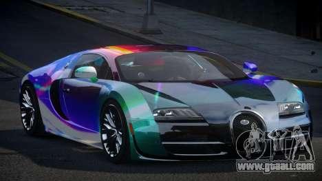 Bugatti Veyron PSI-R S9 for GTA 4